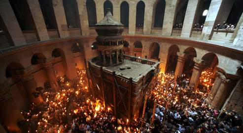 MIDEAST ISRAEL ORTHODOX EASTER